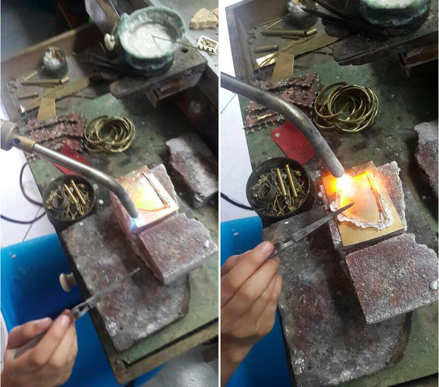Elaboración de piezas de metal