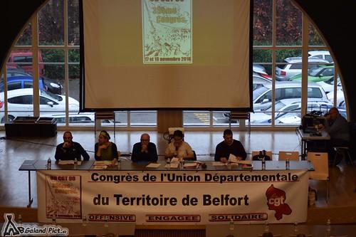 Congrès ud cgt Belfort 2016