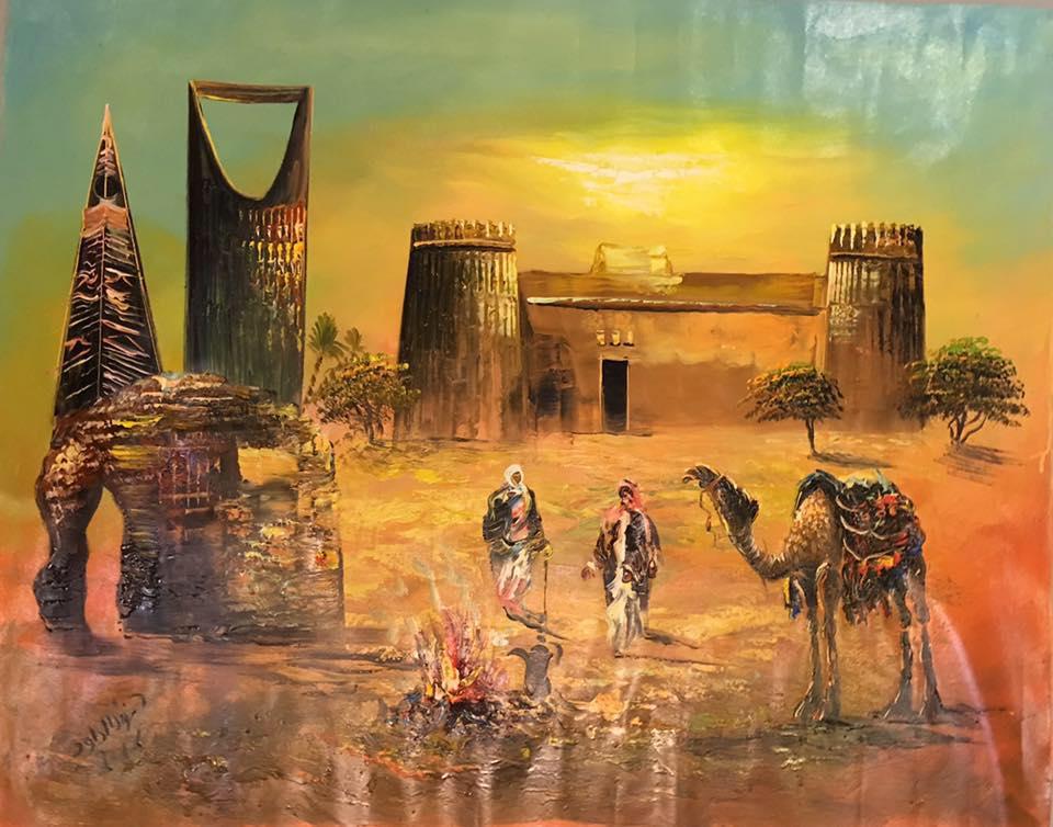 فنانة سعودية 1