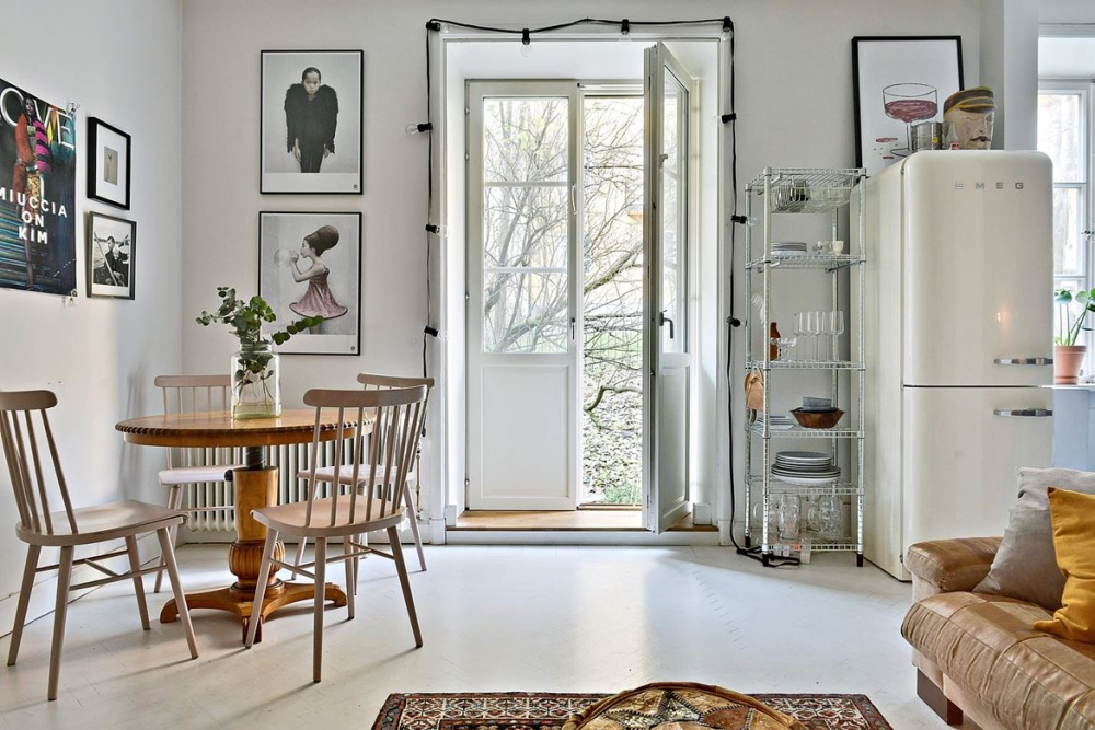 Scandinavian Home With Vintage Vibes