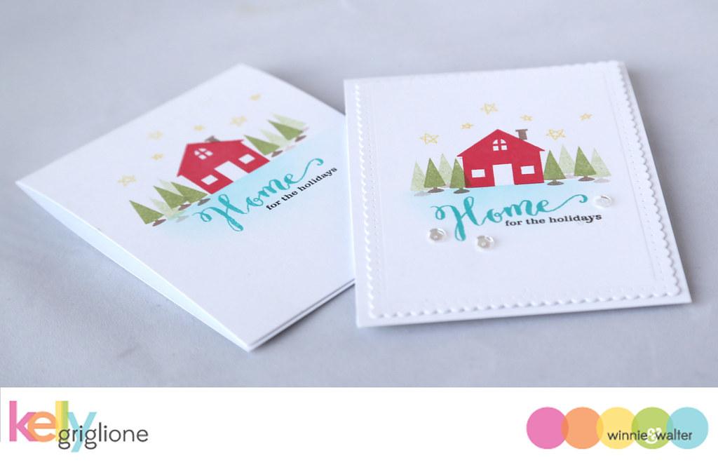 kelly_Simple Handmade Christmas Card