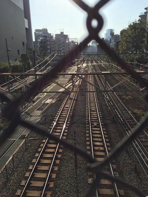 iphone photo 891: Sarugakubashi bridge, Shibuya Tokyo, 13 Nov 2016