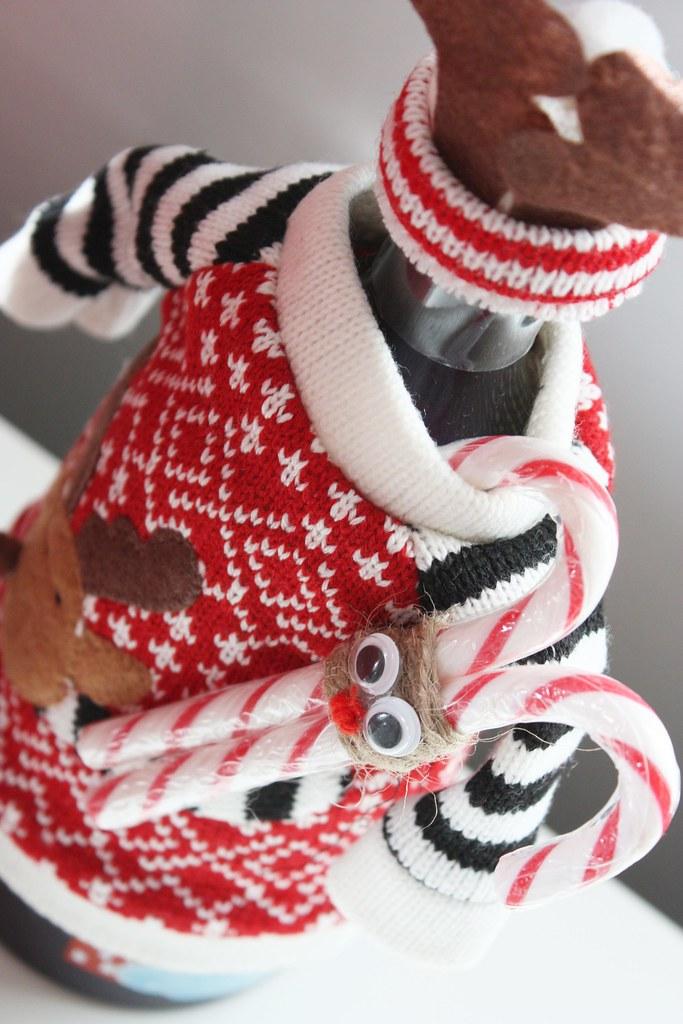 karkkikepistä joulukoriste