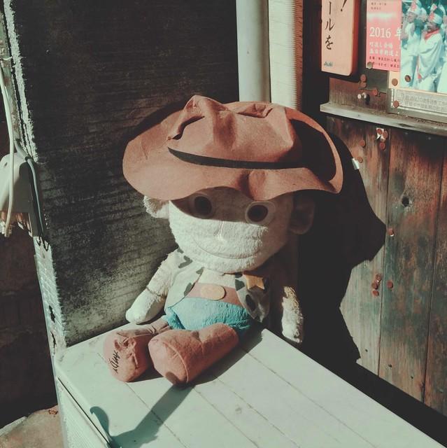 Woody plush toy