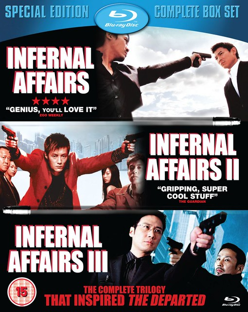 Infernal Affairs - Trilogy - Cover 1