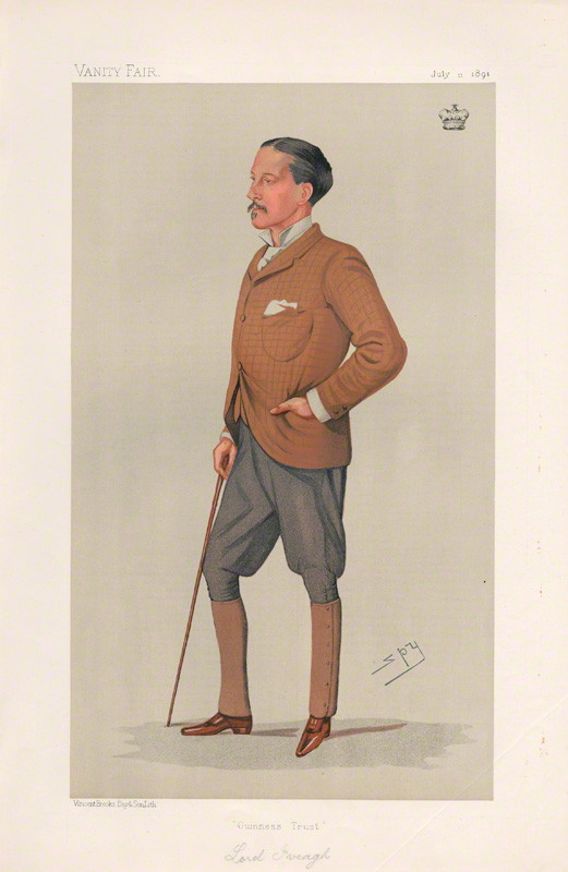 NPG D44550; Edward Cecil Guinness, 1st Earl of Iveagh ('Men of the Day. No. 511.')