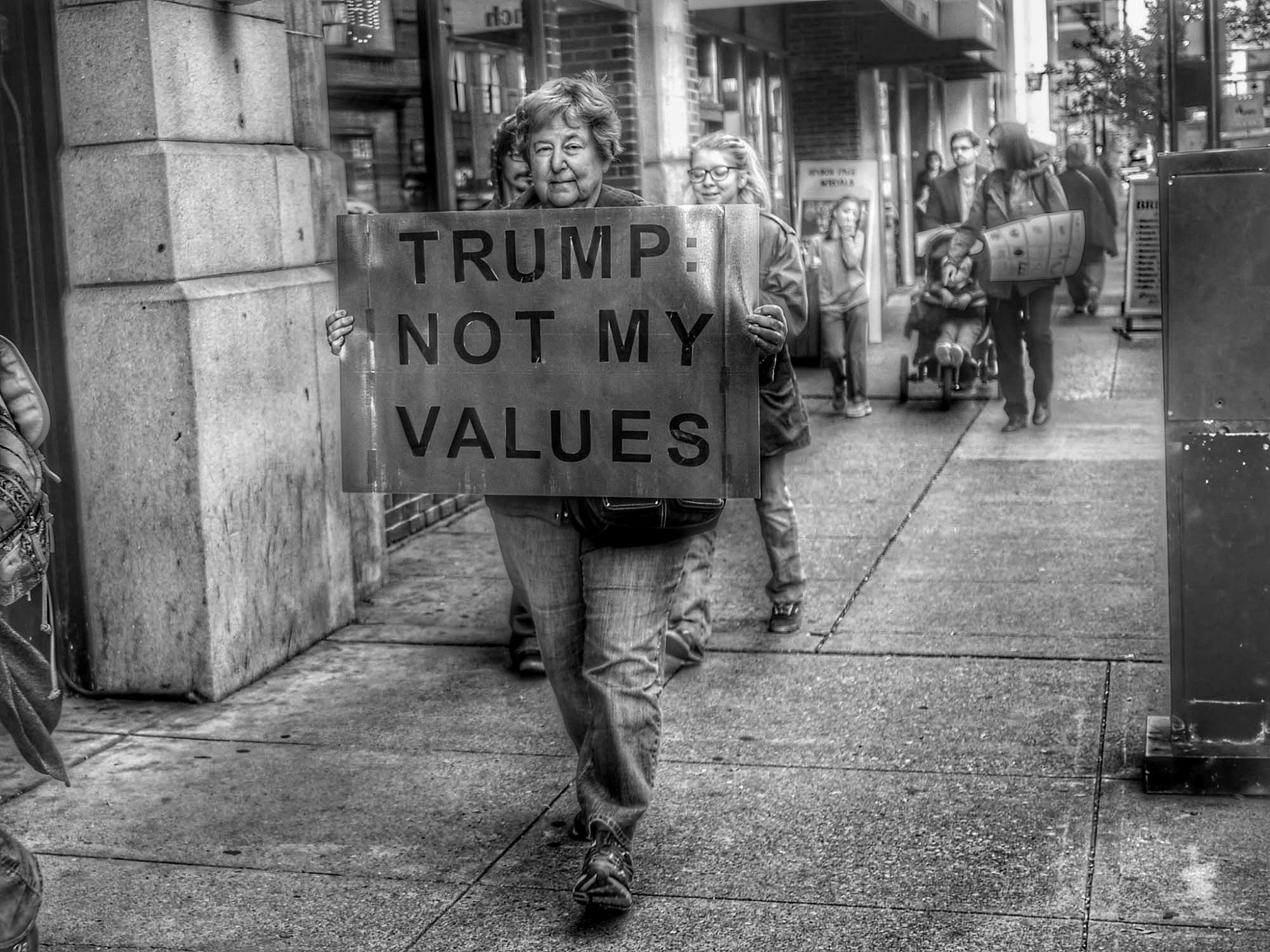 Anti-trump and BLM