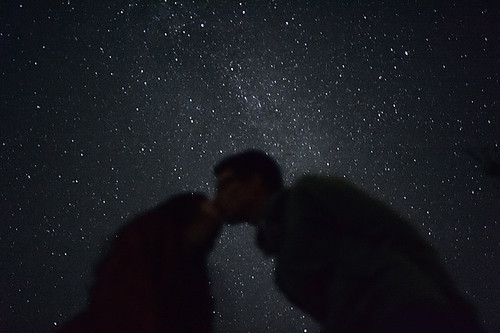 in the night we kiss