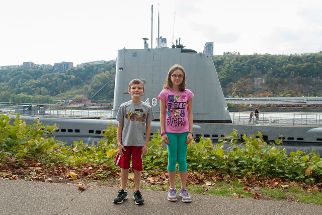 Outside the Submarine