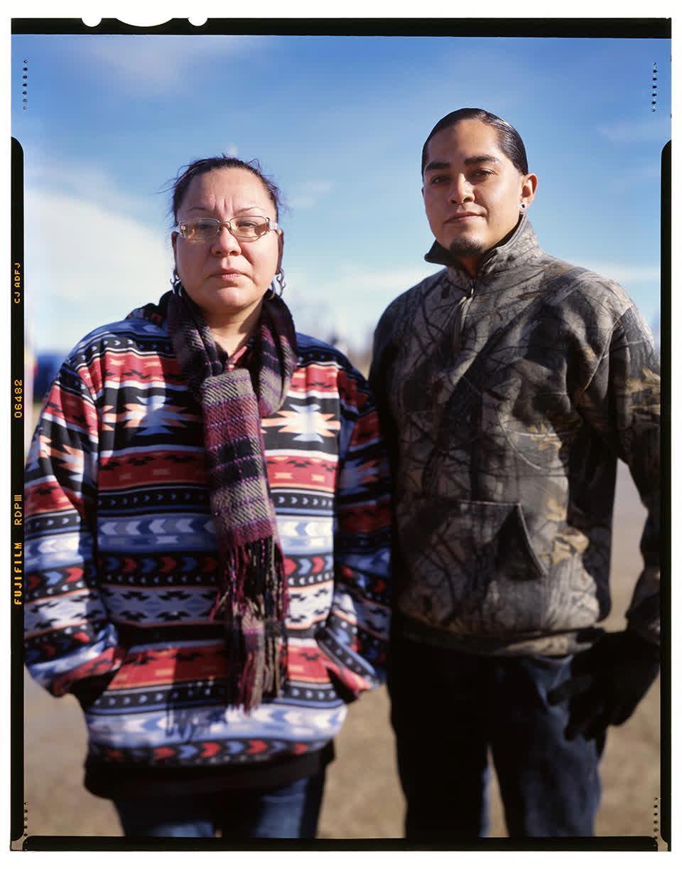 Alberta Chief Caff and Craig Sorrell