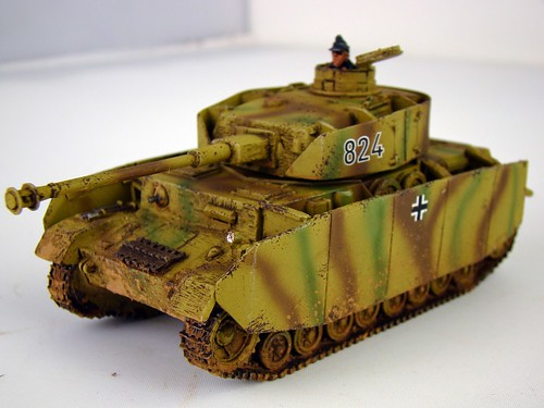 Bolt Action - German Puma, Panzer IV & Pak40