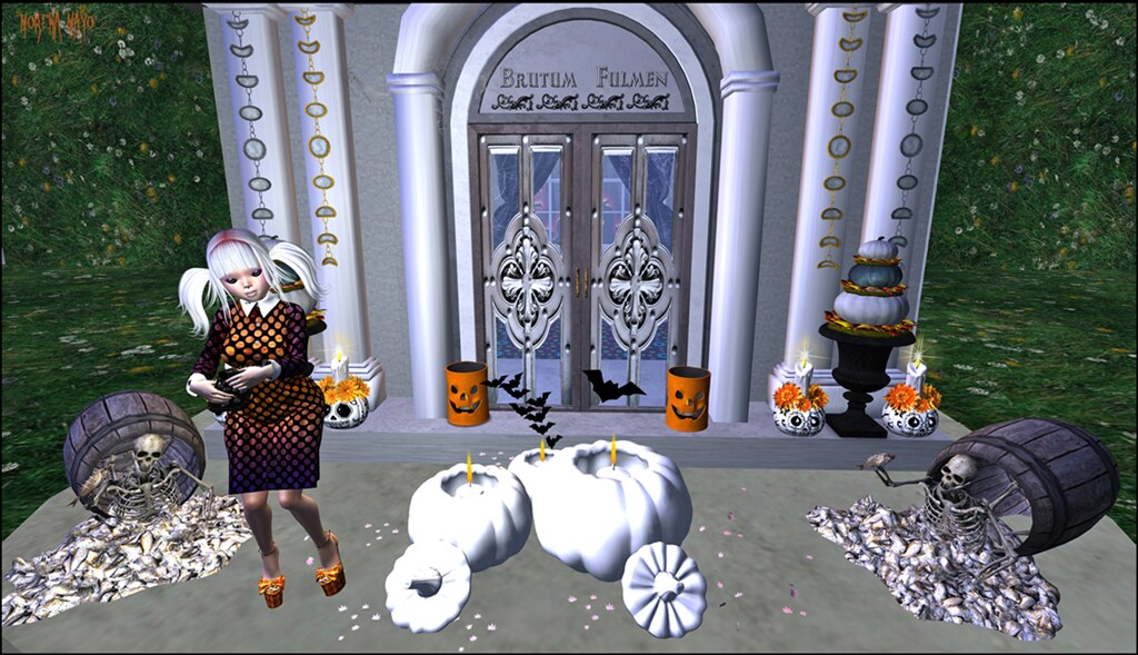 Halloween 2016 - Baiastice, !Go, Bishes Inc, D.Style, free bird, Chez Moi, SR, Circa, DRD, Mello, OTB, Lost Junction, Silvery K, Serendipity Designs, Wood Works, ZcZ, Pink Cherry, !MD I