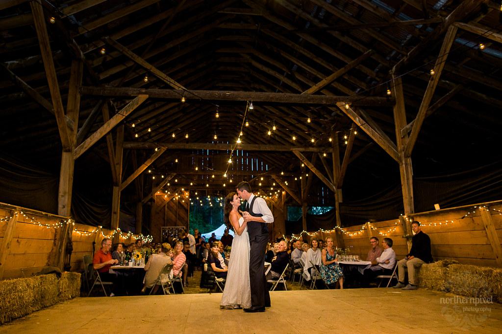 Barn Wedding Reception - Smithers BC