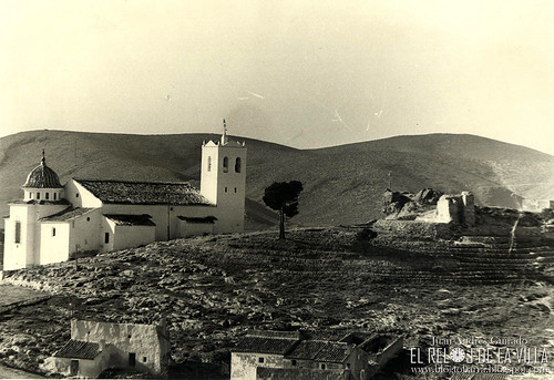 Santurio de la Encarnación y ruinas del Reloj de la Villa