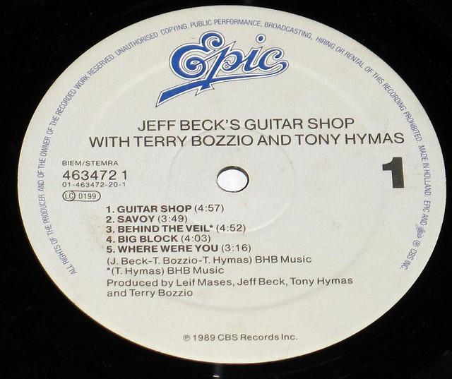 JEFF BECK'S GUITAR SHOP w/TERRY BOZZIO, TONY HYMAS