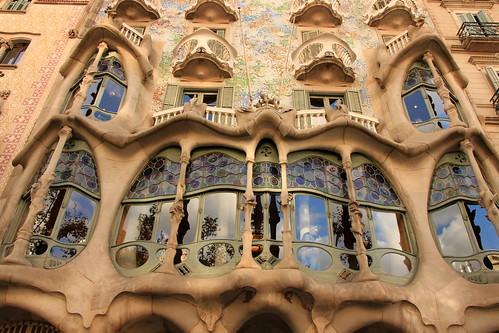 Barcelona architecture - Gaudi facade