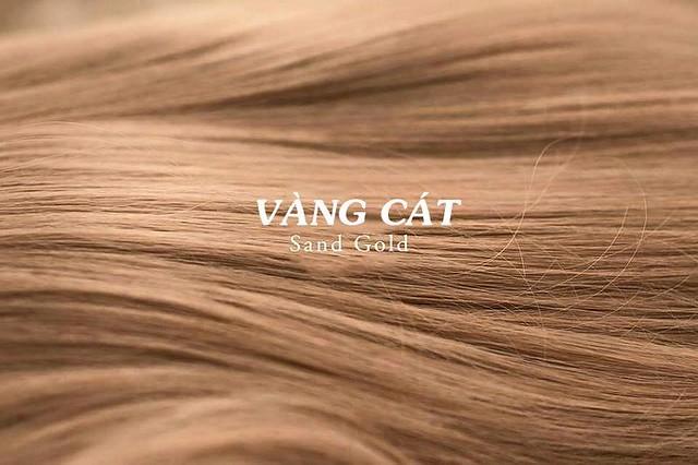 Mầu tóc vàng cát
