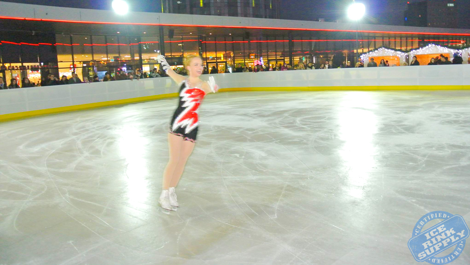 Ice Skating Rink Romania
