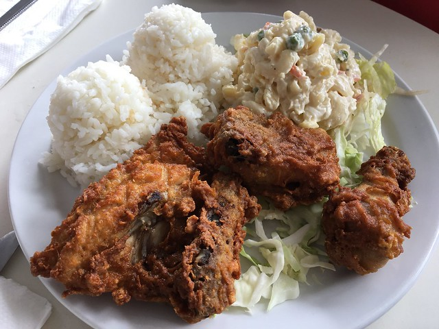 Honey dipped fried chicken - Shaka Restaurant