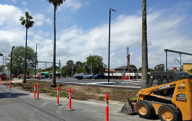 Bentleigh station - new car park