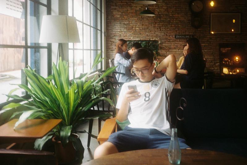 Backlane Cafe @ Jonker Street, Malacca