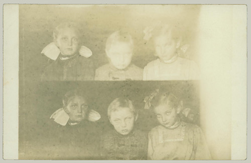 Three children RPPC