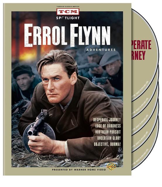 Errol Flynn - War Pack Cover