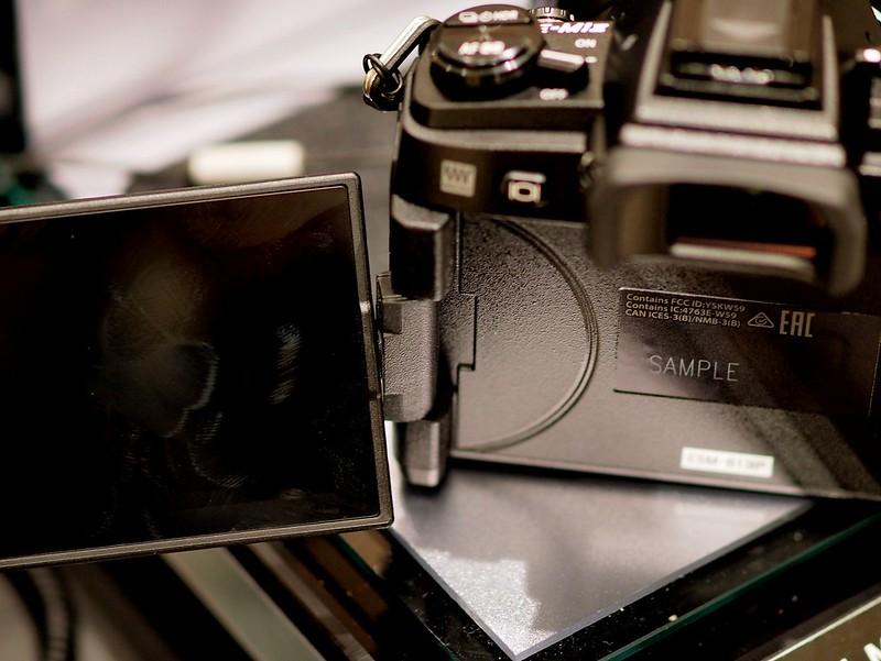 OM-D E-M1 Mark II - vari-angle LCD