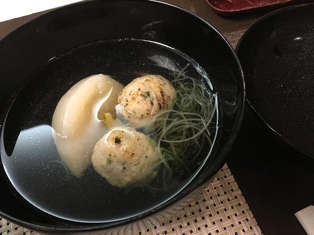 雞肉丸子湯