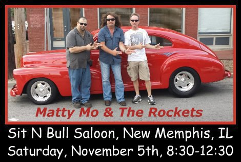 Matty Mo & The Rockets 11-5-16