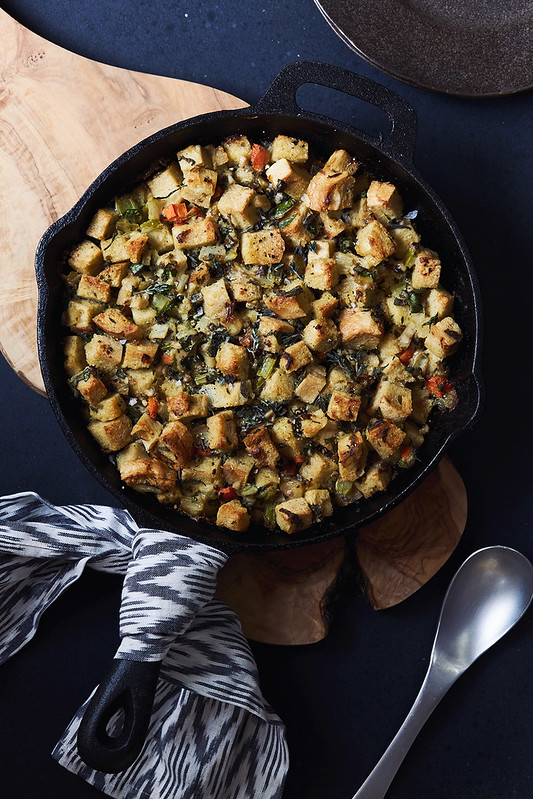 Gluten-free Oyster Sourdough Stuffing