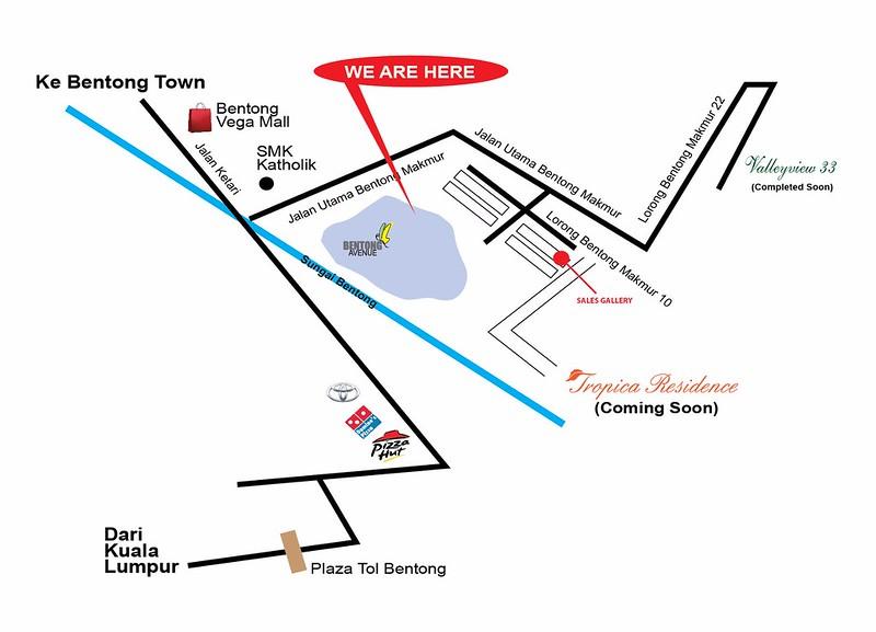 bentong avenue location