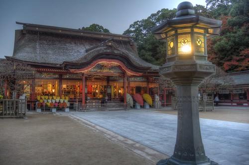 Dazaifu Tenmangu Shrine in early morning on NOV 26, 2016 vol02 (4)