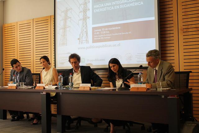 Seminario Hacia una integración energética en Sudamérica