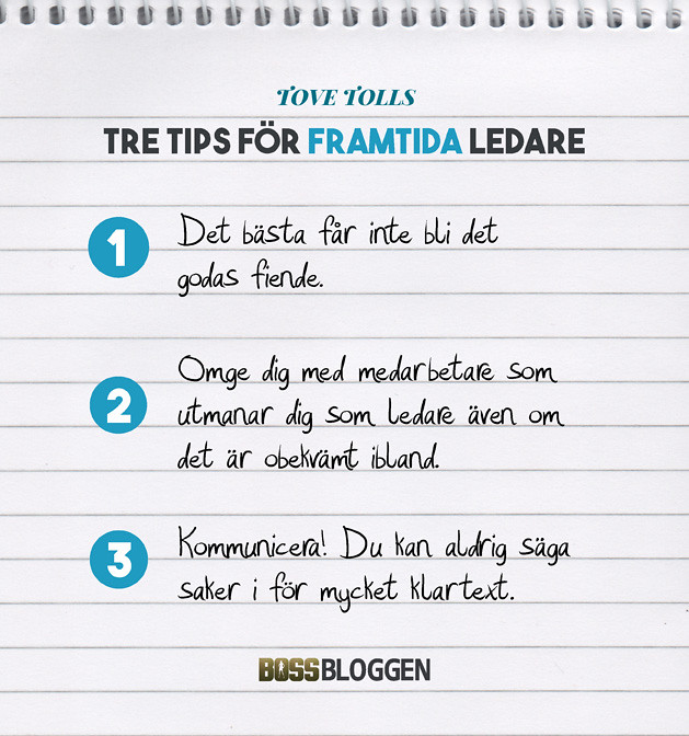 Tre Tips Tove Toll