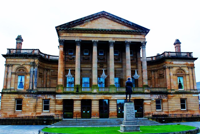 Paisley Town Hall, Scotland