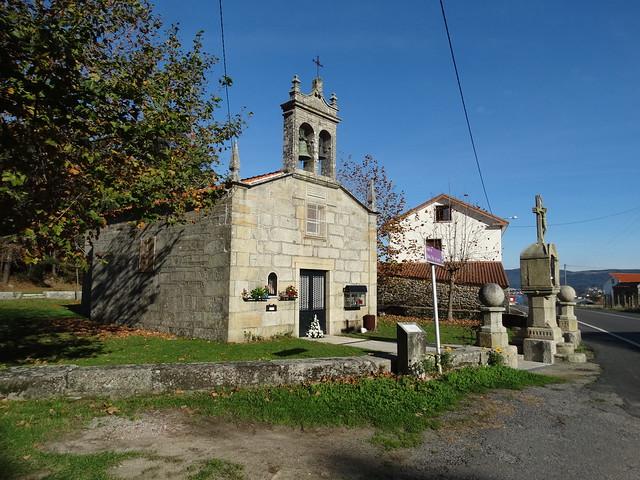Capilla de O Loreto en Porto do Son