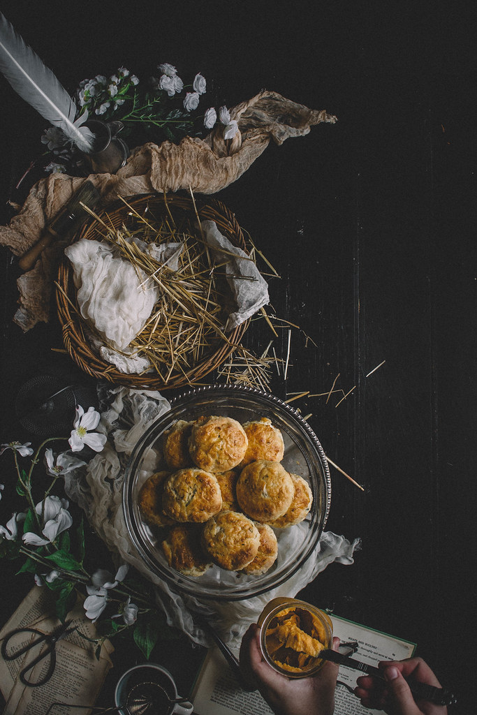 Rosemary Biscuits with spiced butternut squash butter | TermiNatetor Kitchen