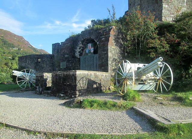 Macrae Memorial Eilean Donan Castle