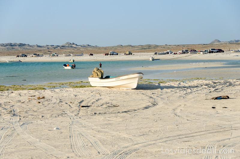 playa de la isla de Masirah