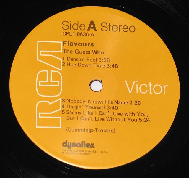 """Guess Who Flavours 12"""" viNYL LP"""