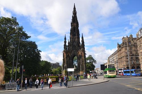 Scott Monument Edinburgh Sept 16 (1)