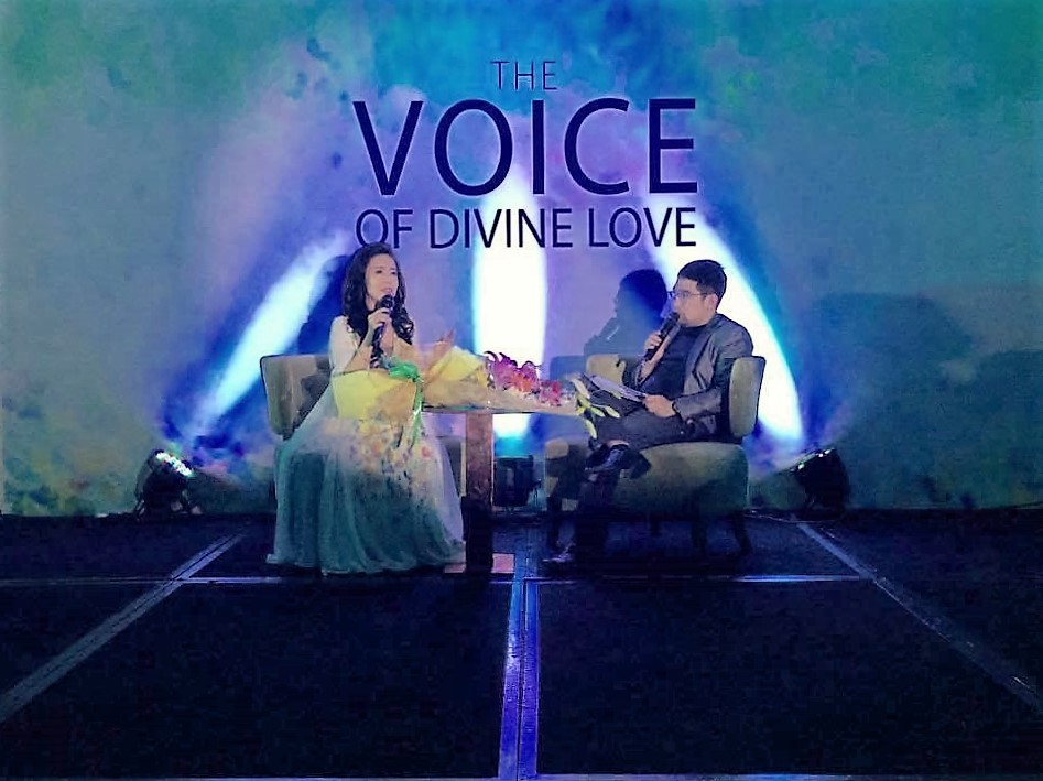 The Voice of Divine Love by Arlene Dayrit