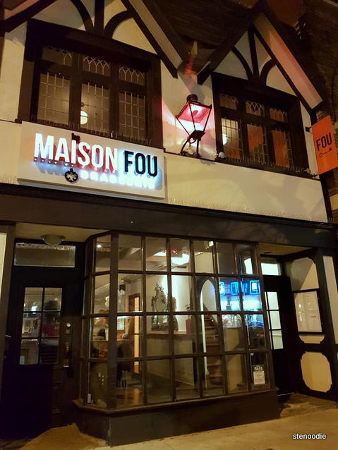 Maison Fou Brasserie storefront