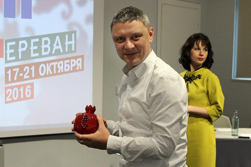 """Вручение приза Олегу Кононову, ГК """"Толока"""""""