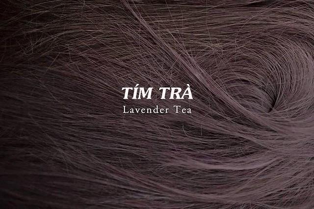 Mầu tóc tím trà