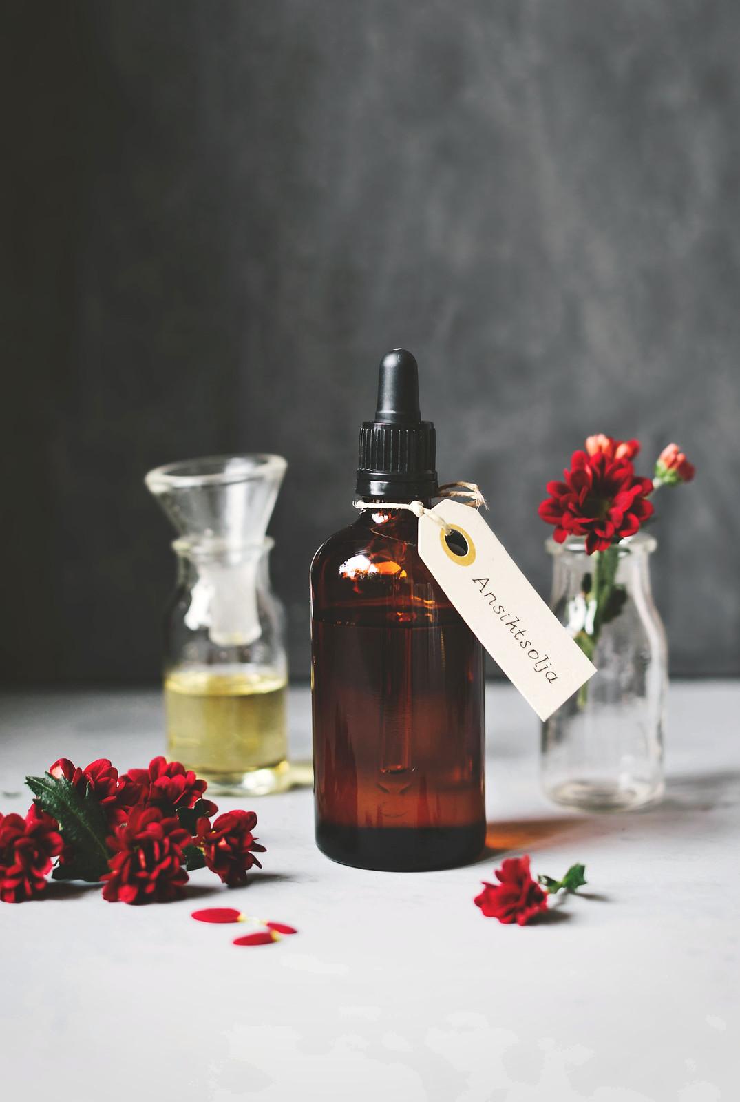 Hemmagjord ansiktsolja / DIY Face oil - Evelinas Ekologiska