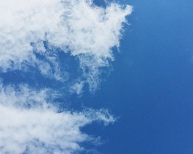 taivas, sky, pilvet, clouds, sininen taivas, blue sky,