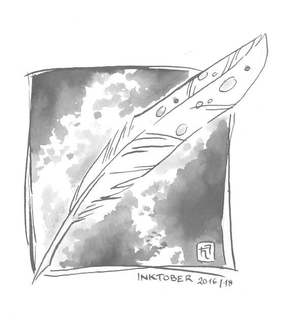Inktober 2016, Day 18