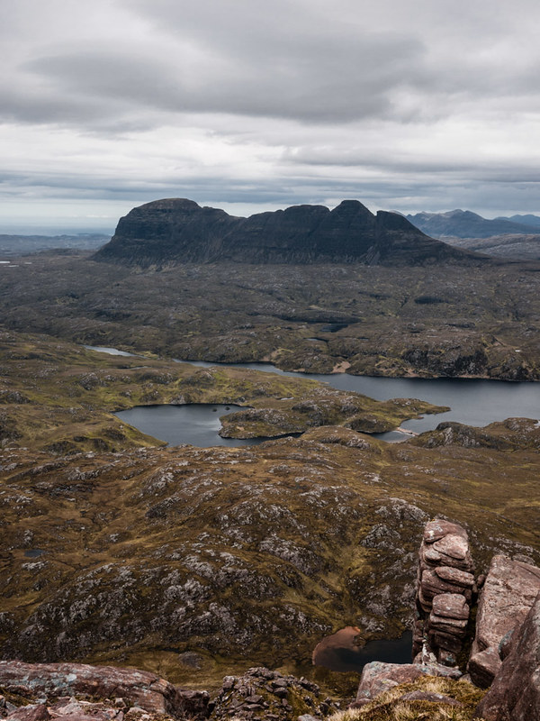 Suilven from Cul Mor